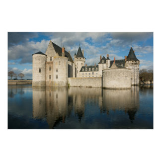 Castle of the Sully-South-Loire Print