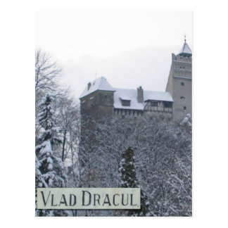 Castle of Vlad Dracul Postcard