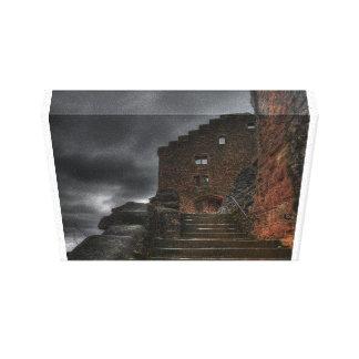 Castle Old Ruins Medieval History Teacher Class Canvas Print