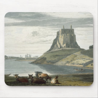 Castle on Holy Island, Northumberland, from 'A Voy Mousepads