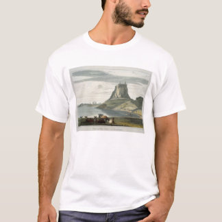 Castle on Holy Island, Northumberland, from 'A Voy T-Shirt