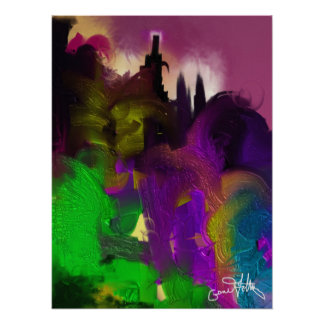 Castle on the Hill Poster