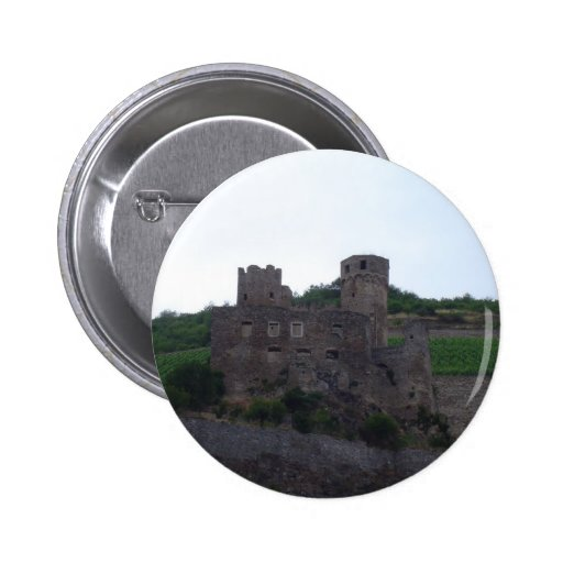 Castle on the Rhine Pinback Button