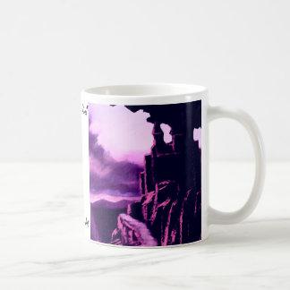 Castle on the Rock CricketDiane Art & Design Classic White Coffee Mug