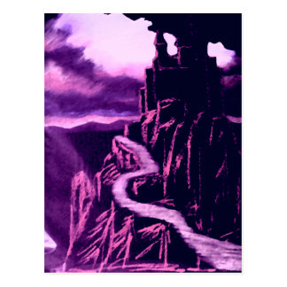 Castle on the Rock CricketDiane Art Design Post Cards