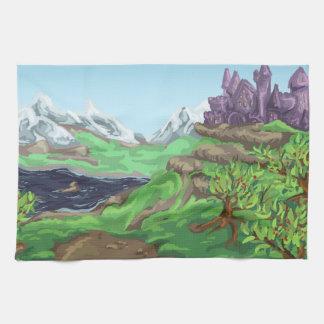 Castle Path Hand Towels