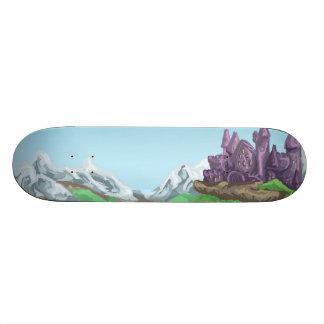 Castle Path Skateboard Deck