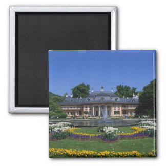 Castle Pillnitz, Dresden, Saxony, Germany 2 Inch Square Magnet