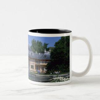 Castle Pillnitz, Dresden, Saxony, Germany Two-Tone Coffee Mug