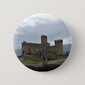 Castle Pinback Button