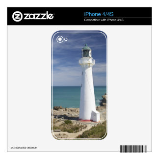 Castle Point Lighthouse, Castlepoint, Wairarapa, Decals For The iPhone 4