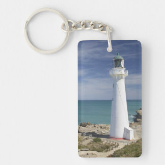 Castle Point Lighthouse, Castlepoint, Wairarapa, Acrylic Keychains