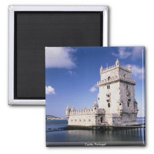 Castle, Portugal Magnet