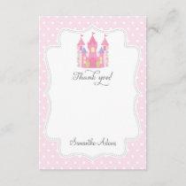 Castle Princess Thank You Card