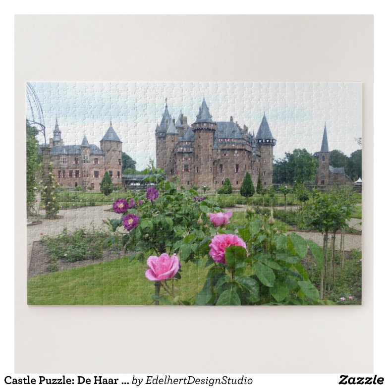 Castle Puzzle: De Haar in the Netherlands Jigsaw Puzzle