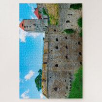 Castle Querfurt Saxony. Jigsaw Puzzle