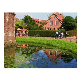 Castle Raesfeld ( Germany) Postcard