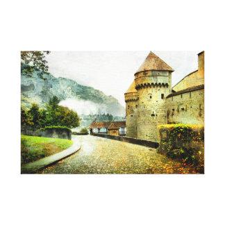 Castle Road Canvas Print