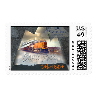 Castle Rock Colorado custom stamp