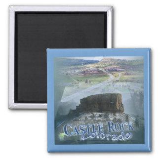 Castle Rock Colorado Magnet