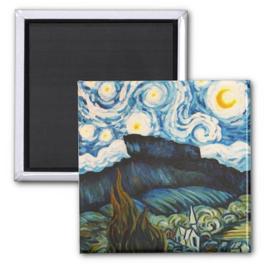 Castle Rock Colorado, Master Impressionist Magnet