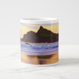 Castle Rock Crescent City, CA Large Coffee Mug