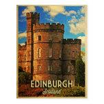 Castle Rock Edimburgo Tarjetas Postales
