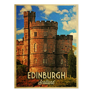 Castle Rock Edinburgh Postcard