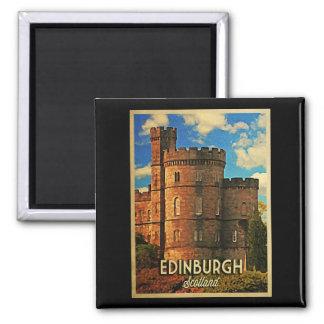 Castle Rock Edinburgh Refrigerator Magnets