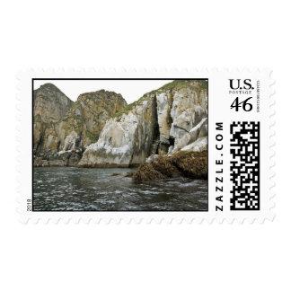 Castle Rock en las islas de Shumagin Sello