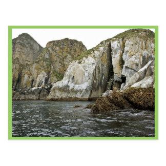 Castle Rock en las islas de Shumagin Postales