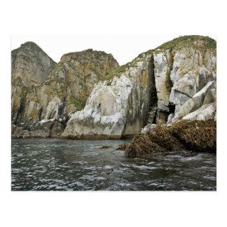 Castle Rock en las islas de Shumagin Tarjetas Postales