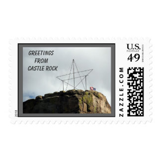 Castle Rock Greetings..    Custom Stamp