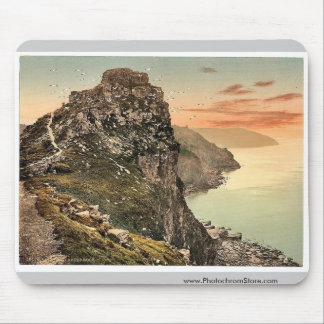 Castle Rock in the Valley of Rocks, Lynton and Lyn Mouse Pad
