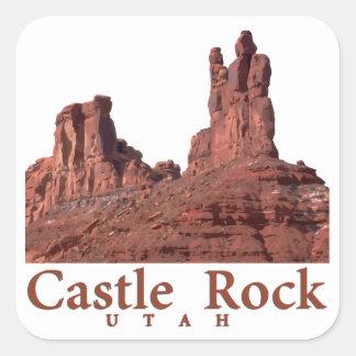 Castle Rock Square Sticker