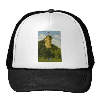 Castle Rock, St Ignace, Michigan Trucker Hat