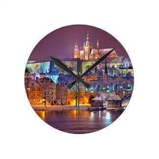 Castle Round Clock