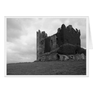 Castle Ruins in County Kerry Card