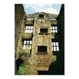 Castle ruins invitation
