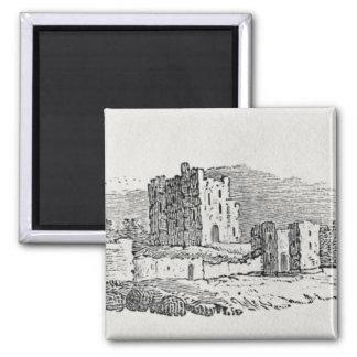 Castle Ruins Fridge Magnet