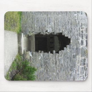 Castle ruins mouse pad