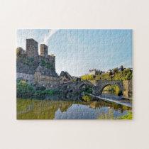 Castle Runkel Germany. Jigsaw Puzzle