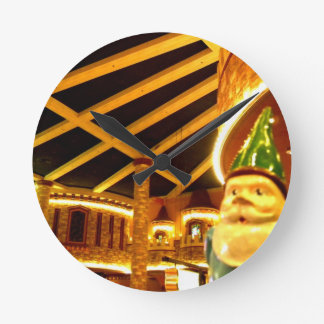 Castle Sam Round Clock