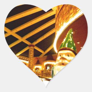 Castle Sam Heart Sticker