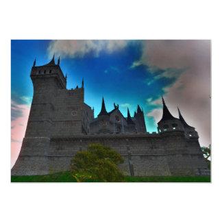 """Castle Sanctuary Poetry Invitation 5"""" x 7"""" w/ env."""