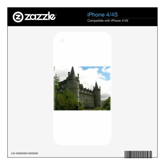 CASTLE SCAPES iPhone 4 SKINS
