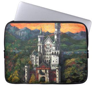 Castle Schloss Neuschwanstein Laptop Sleeves
