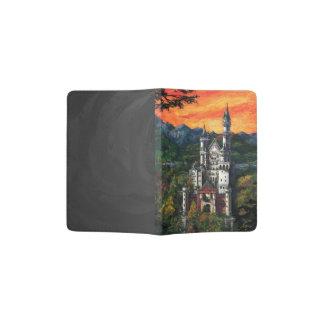 Castle Schloss Neuschwanstein Passport Holder