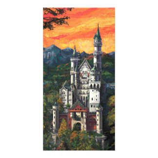 Castle Schloss Neuschwanstein Photo Card