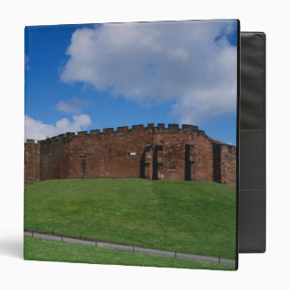 Castle showing half moon tower, Chester, 3 Ring Binder